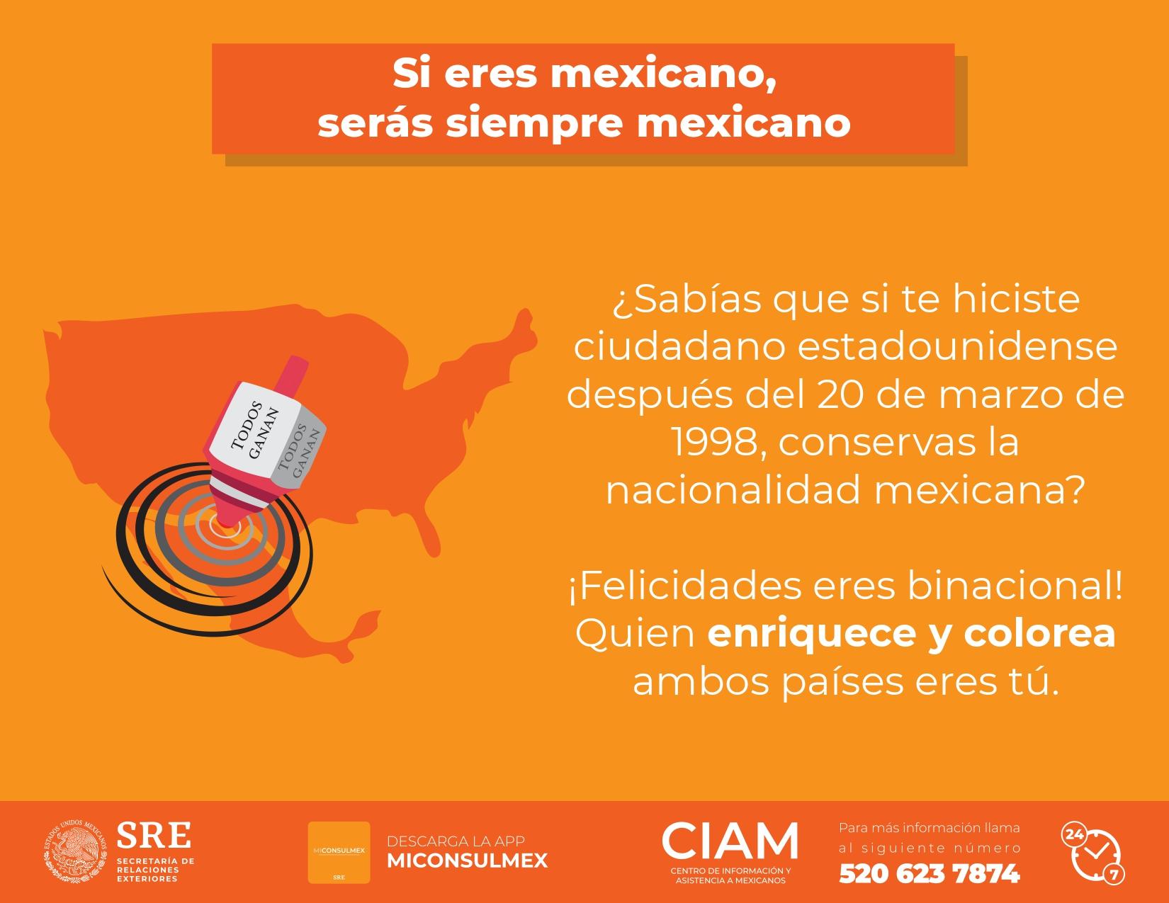 Doble Ciudadania Centro De Informacion Y Asistencia A Mexicanos Gobierno Gob Mx