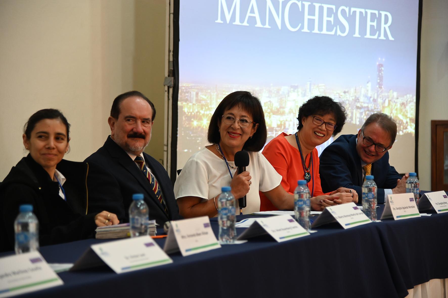 Nuestra Directora General la Doctora Georgina Izquierdo Montalvo y por la Secretaría de Energía el Dr. Alberto Montoya y la Dra. Velvet Rosemberg.