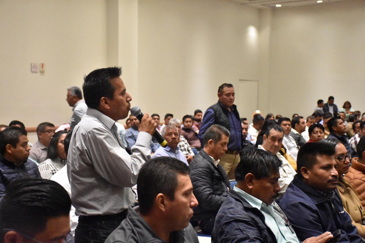 El INPI realiza el Taller de Evaluación del Programa de Infraestructura Indígena (PROII) con Autoridades Municipales y Comunitarias.