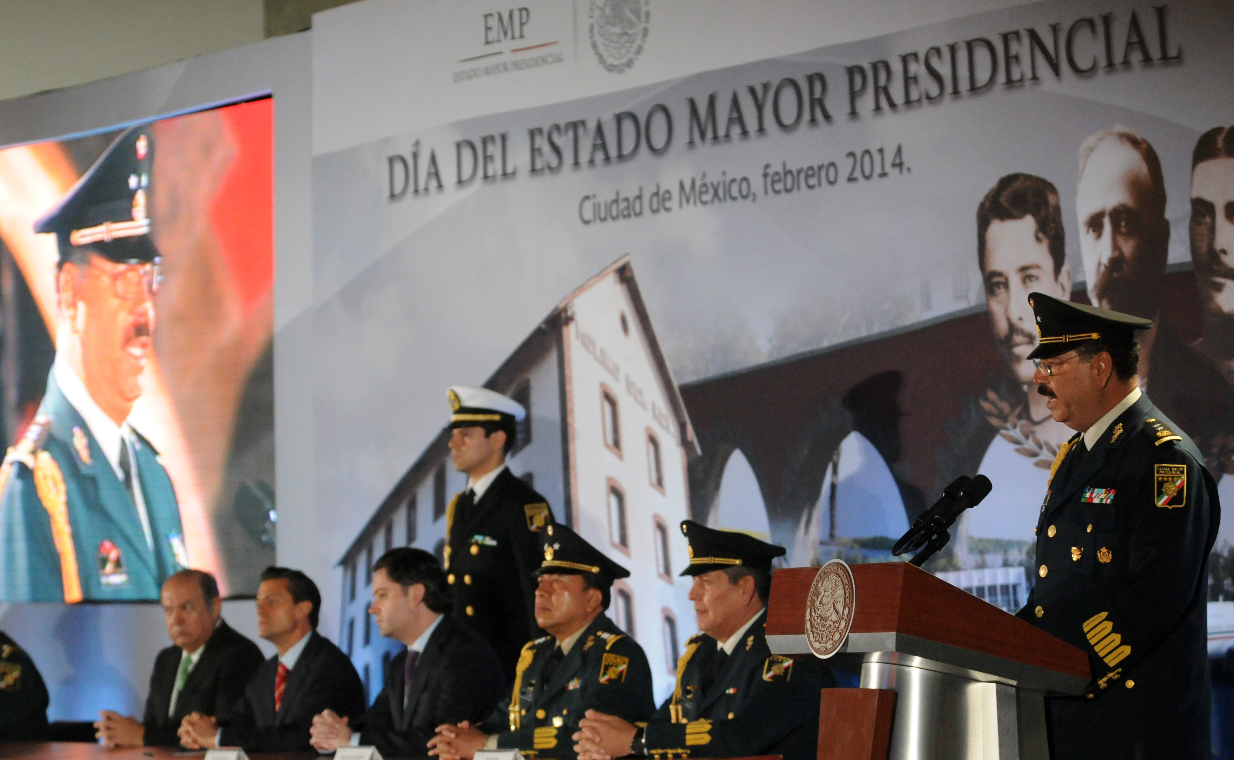 Da del estado mayor presidencial 12824381023 o