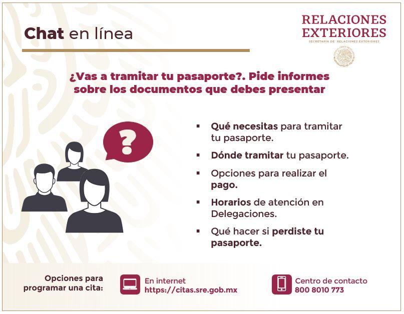 Pasaporte Mexicano Secretaría De Relaciones Exteriores