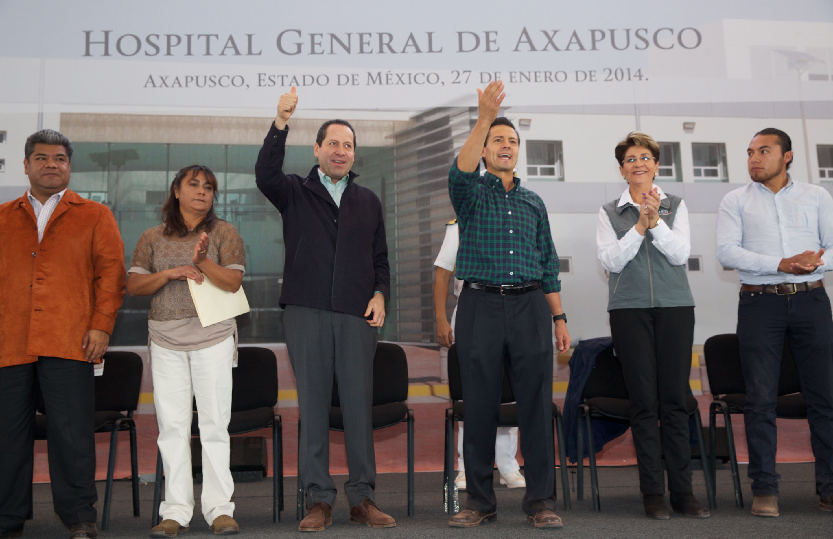 Inauguracin del hospital general de axapusco estado de mxico 12181103003 o