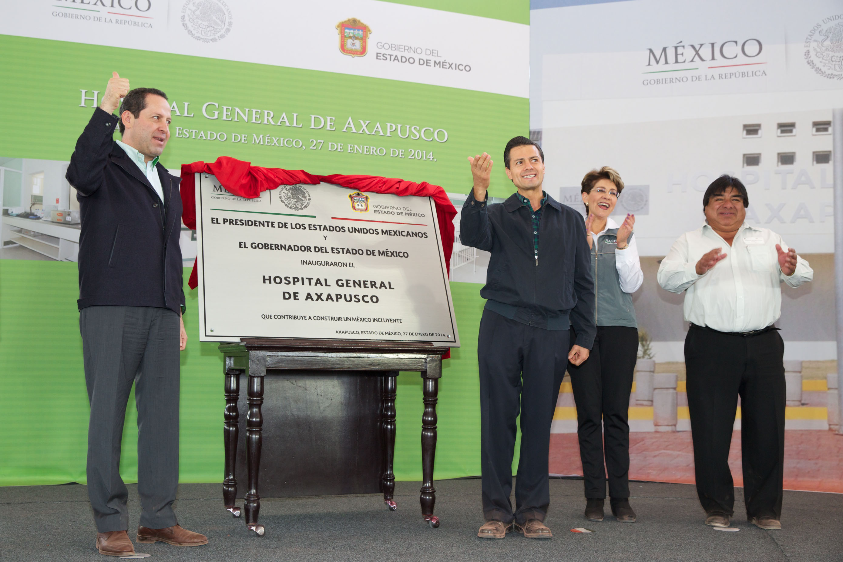 Inauguracin del hospital general de axapusco estado de mxico 12181277244 o