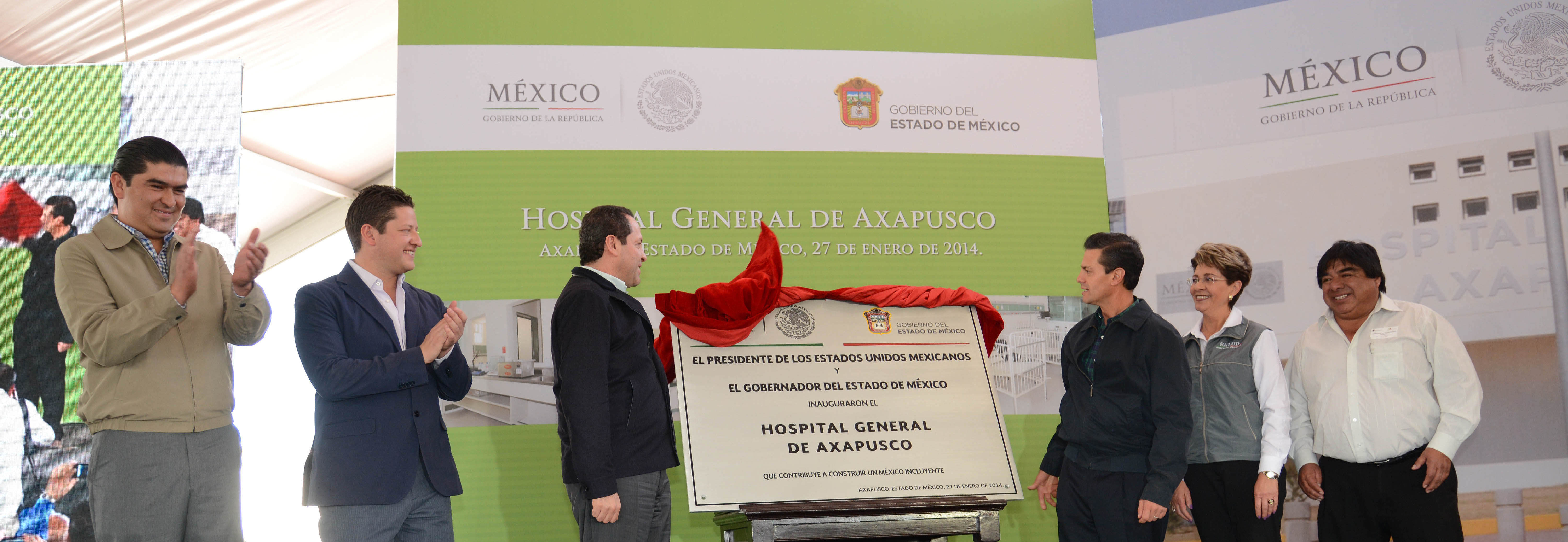 Inauguracin del hospital general de axapusco estado de mxico 12181286194 o