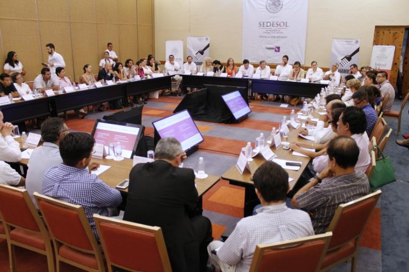 FOTO 2 El Meade inaugur  el encuentro Contribuciones de la Sociedad Civil Organizada al Desarrollo Social de Jalisco y Nayaritjpg