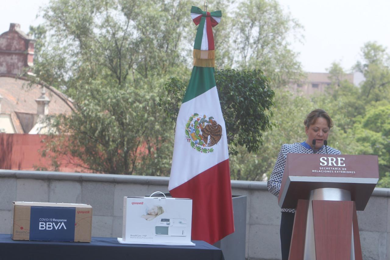 BBVA Private Mexican Firm Donates 1,000 COVID-19 Ventilators