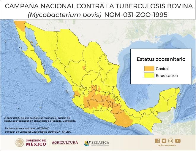 Situación actual de Tuberculosis Bovina