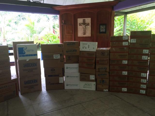 FOTO 2 Coordinan la SRE y COFEPRIS donaci n de medicamentos a la Casa del Migrante  en Tapachula.jpg