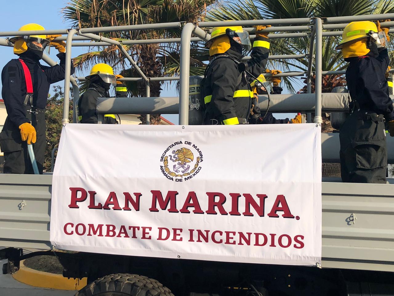 Personal de combate de incendios