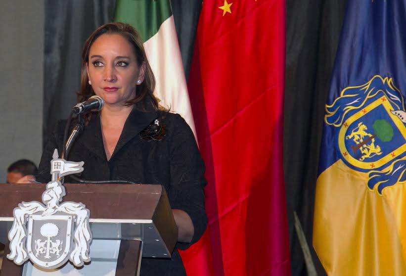 FOTO 2 Canciller Claudia Ruiz Massieu en la IX Cumbre Empresarial China Am rica Latina y el Caribe.jpg