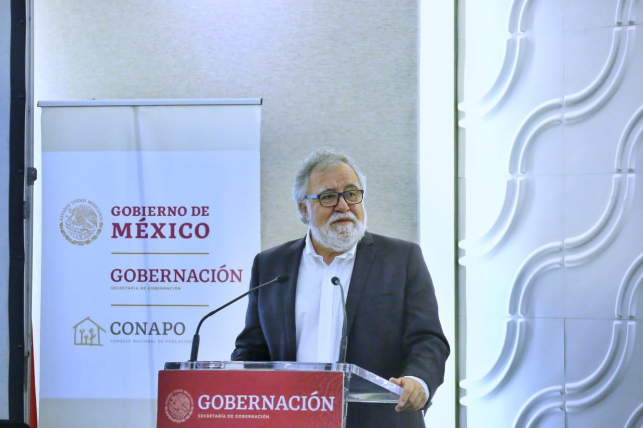 Alejandro de Jesús Encinas Rodríguez, Subsecretario de Derechos Humanos, Población y Migración de la Secretaría de Gobernación.