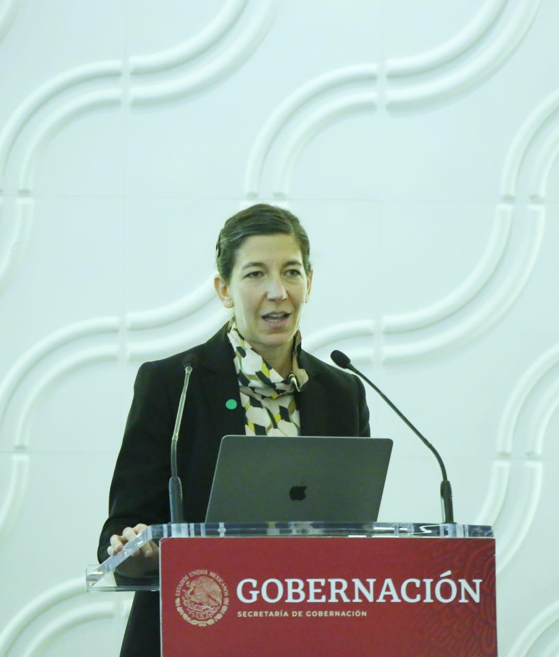 Karla Berdichevsky Feldman, Directora General del Centro Nacional de Equidad de Género y Salud Reproductiva (CNEGSR) de la Secretaria de Salud.