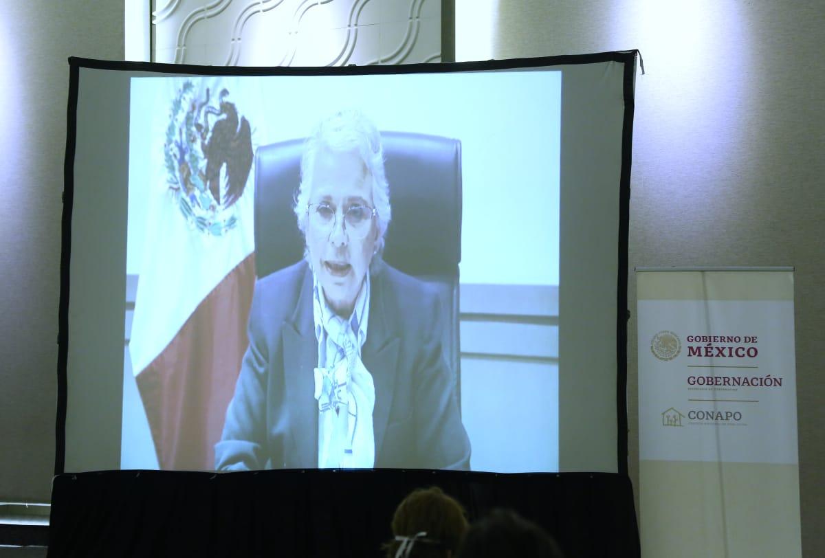 Olga Sánchez Cordero, Secretaria de Gobernación.