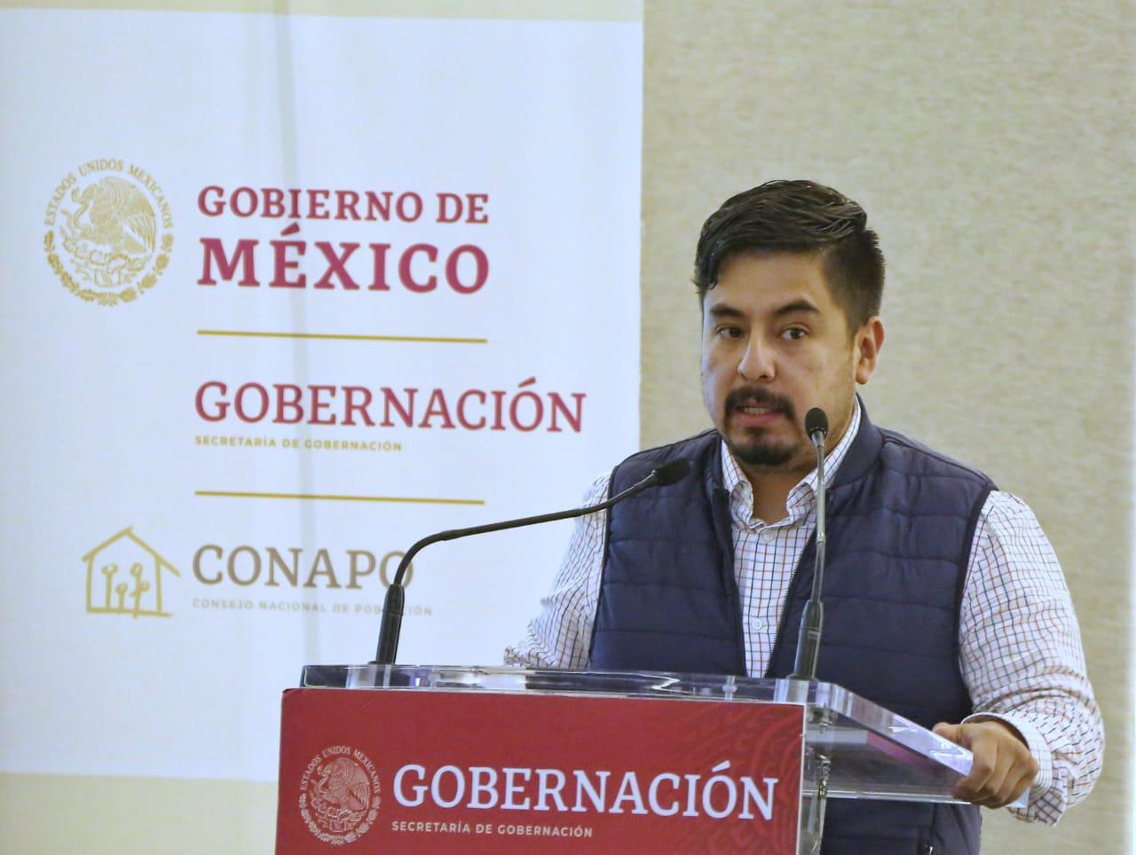 Guillermo Santiago Rodríguez, Director General del Instituto Mexicano de la Juventud (IMJUVE).