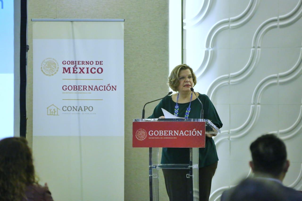 Nadine Gasman Zylbermann, Presidenta del Instituto Nacional de las Mujeres (INMUJERES).
