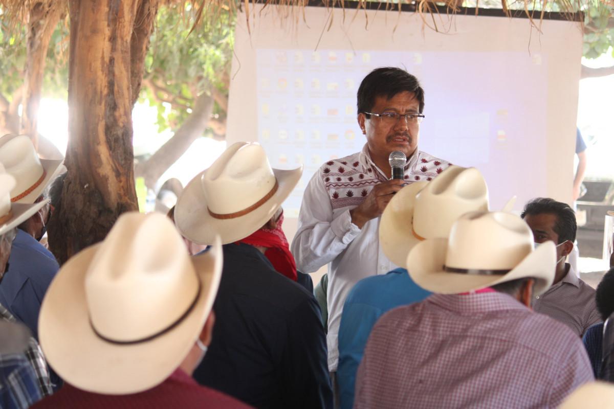 Por unanimidad, pueblo yaqui aprueba creación del Distrito de Riego 018, a fin de garantizar su legítimo derecho al agua. Adelfo Regino Montes