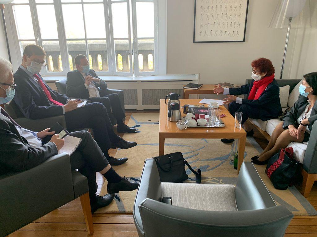 Visita de trabajo a Francia de la subsecretaria Carmen Moreno Toscano