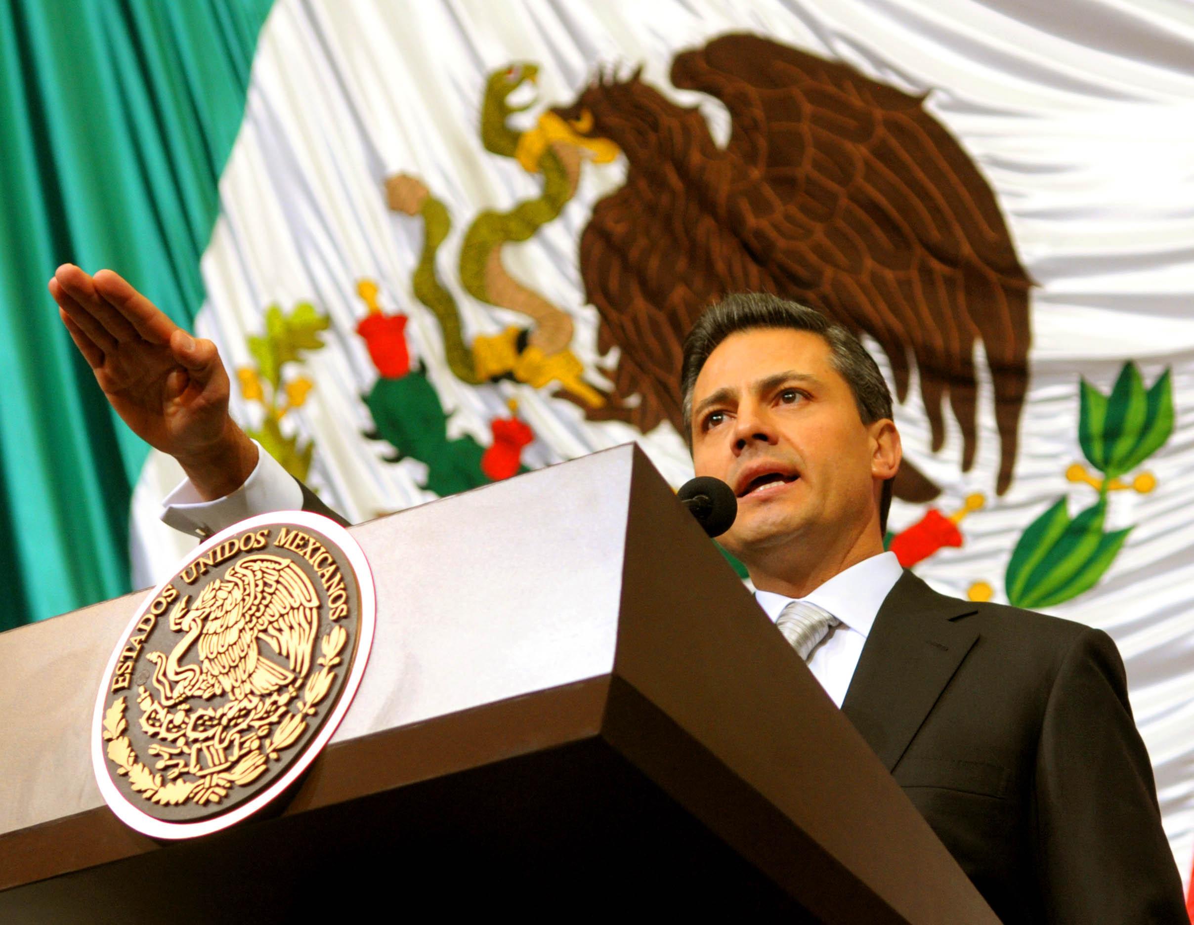 Ceremonia de transmisión del Poder Ejecutivo Federal de los Estados ...