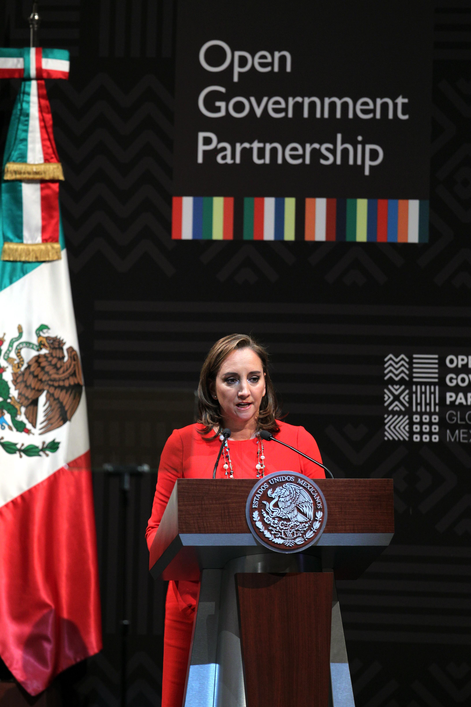 FOTO Canciller Claudia Ruiz Massieu en la Cumbre Global de Gobierno Abiertojpg