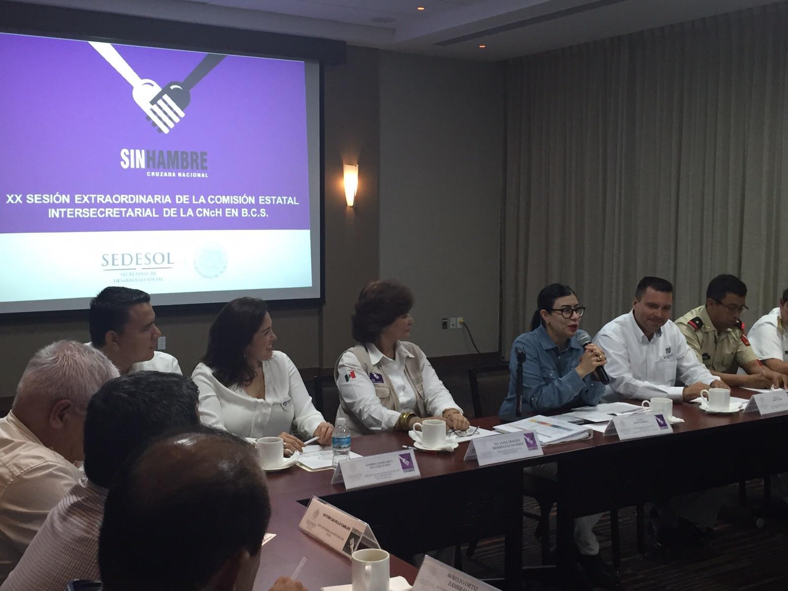 Foto 1 La subsecretaria Vanessa Rubio presidi  la Reuni n de la Comisi n Estatal Intersecretarial de la Cruzada Nacional contra el Hambre en Baja California Surjpg