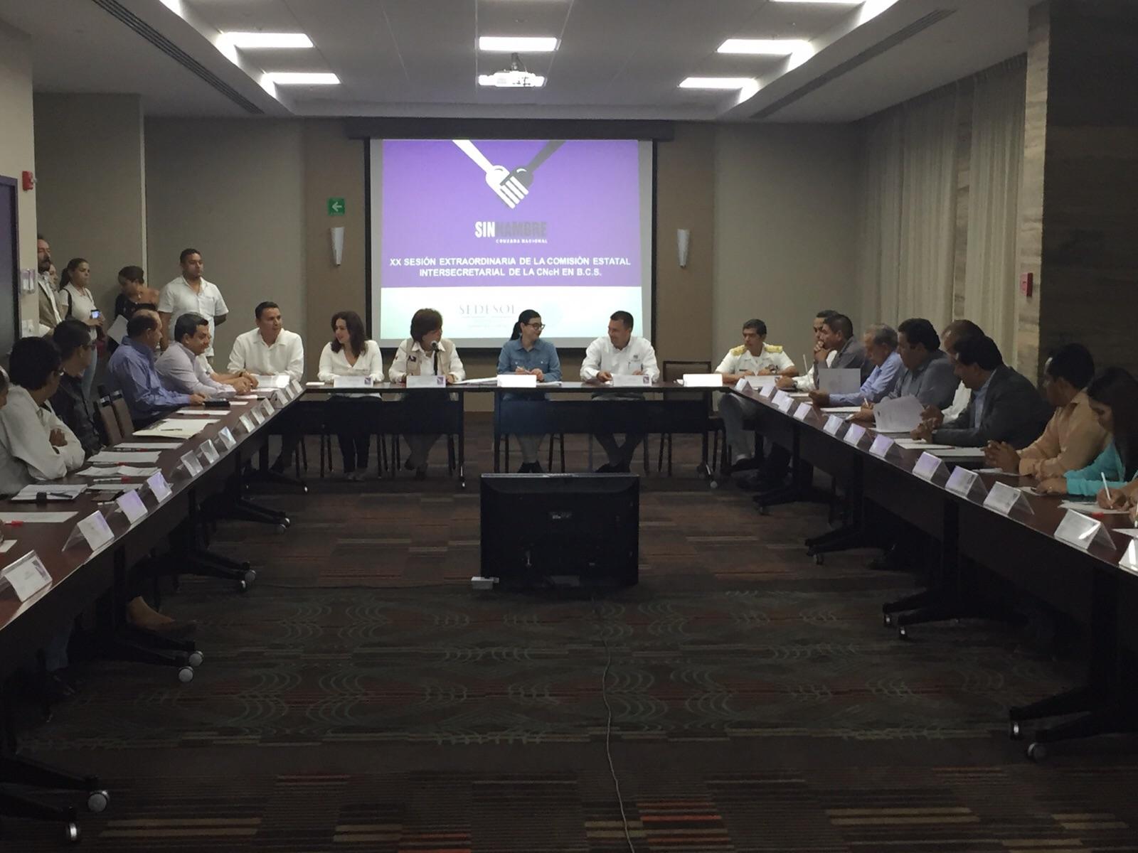 Foto 2 La subsecretaria Vanessa Rubio presidi  la Reuni n de la Comisi n Estatal Intersecretarial de la Cruzada Nacional contra el Hambre en Baja California Surjpg