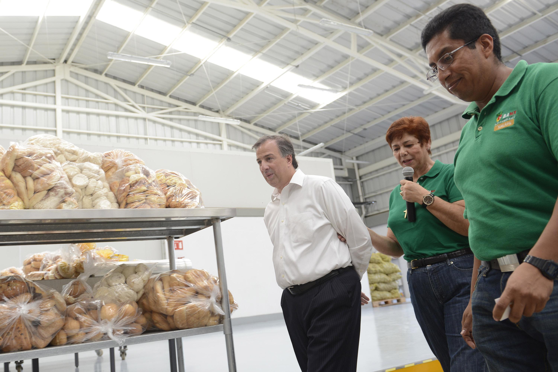 FOTO 4 Secretario Jos  Antonio Meade Kuribre a durante una gira de trabajo por Veracruzjpg