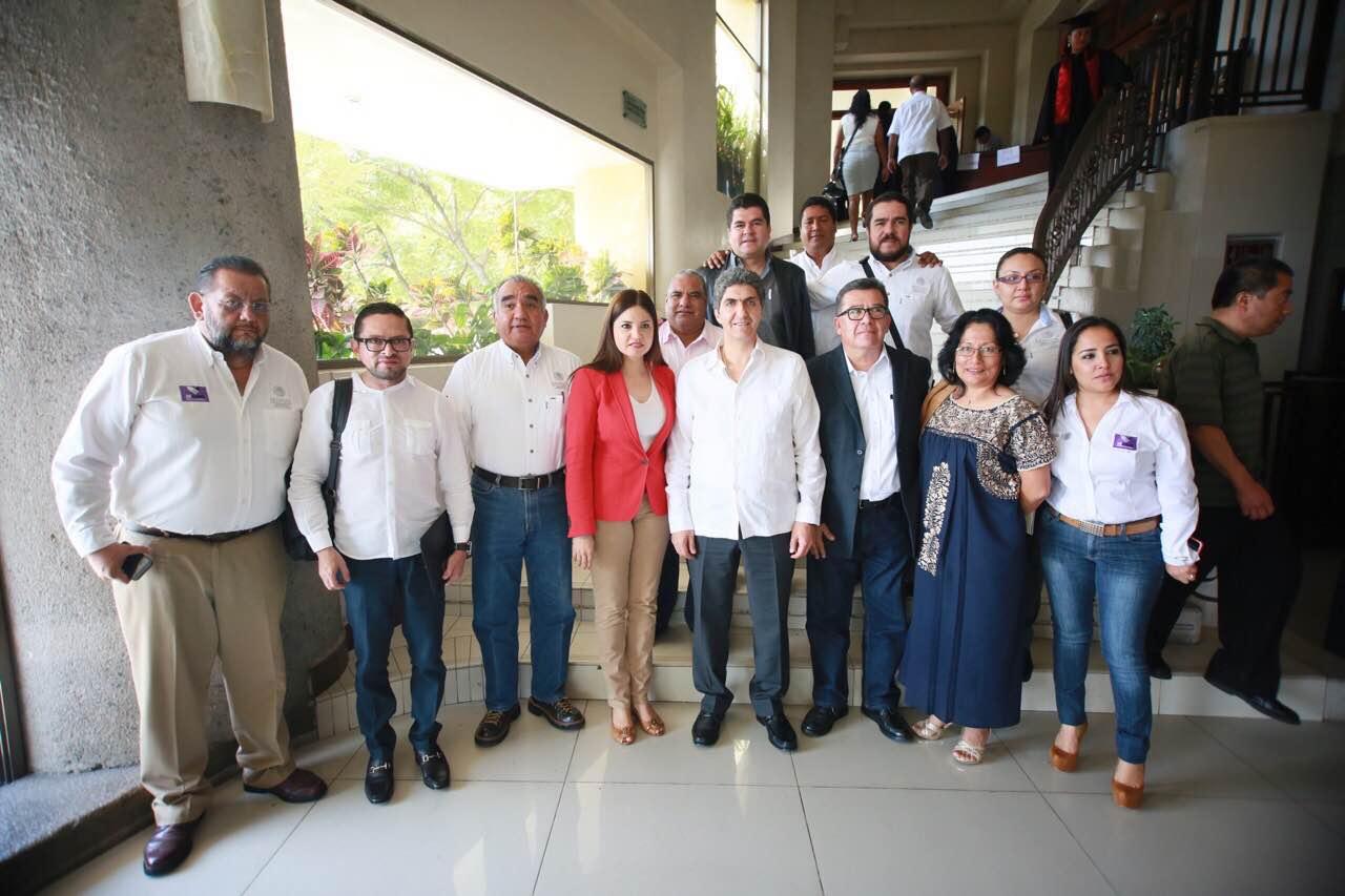 FOTO 2 El subsecretario Ernesto Nemer  lvarez realiz  una gira de trabajo por Oaxacajpg