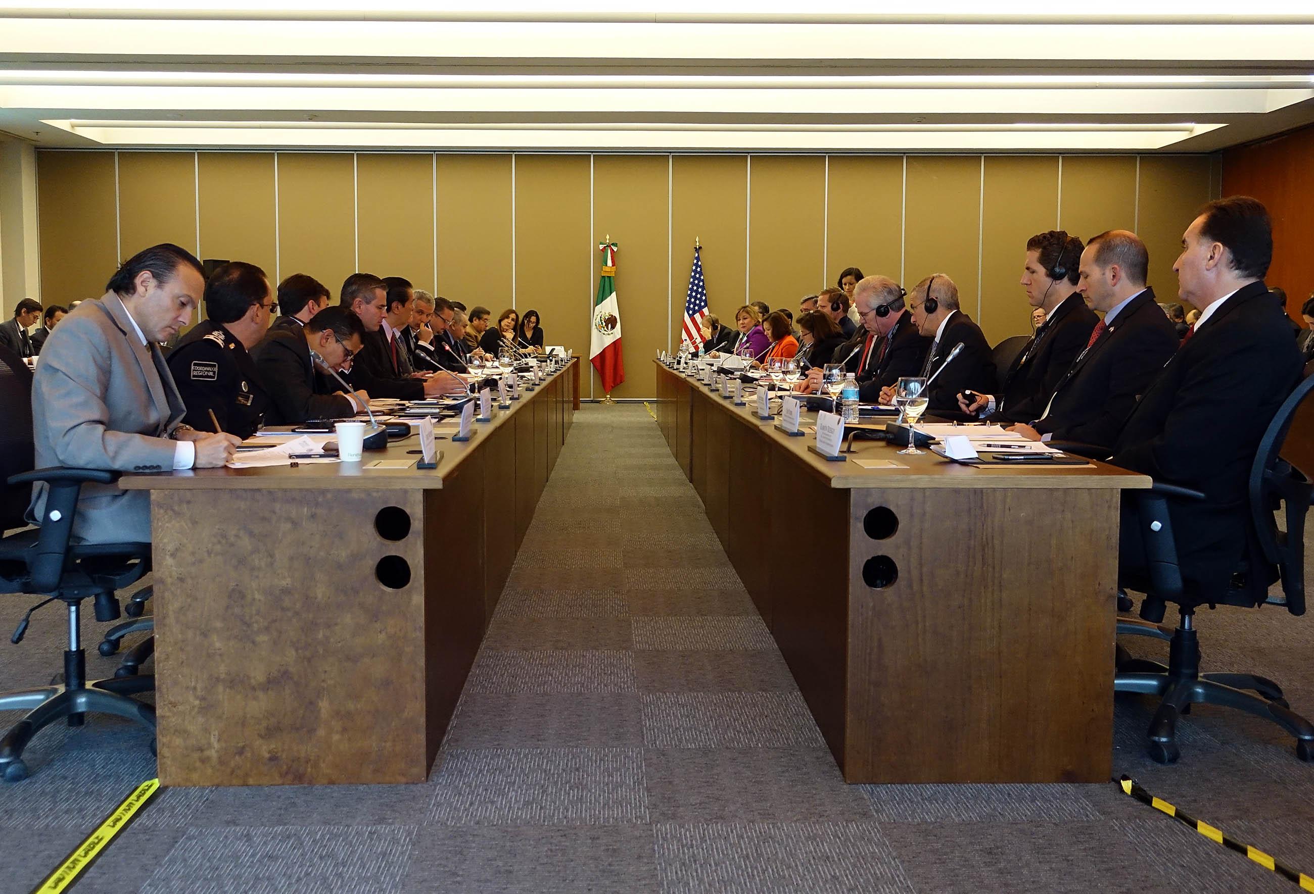 FOTO 1 Reuni n del Comit  Ejecutivo Bilateral de la Iniciativa para la Administraci n de la Frontera en el Siglo XXIjpg