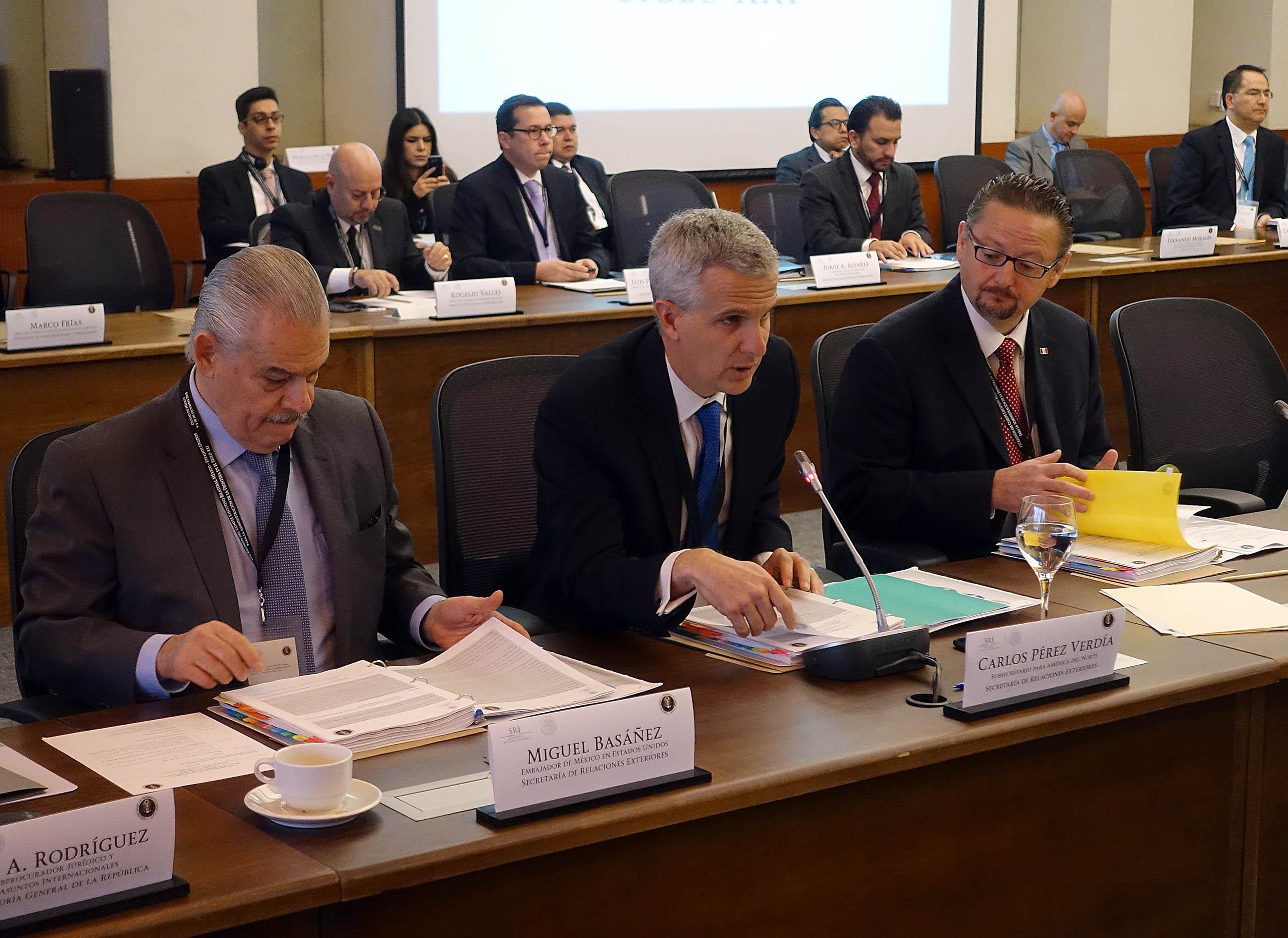 FOTO 2 Reuni n del Comit  Ejecutivo Bilateral de la Iniciativa para la Administraci n de la Frontera en el Siglo XXIjpg