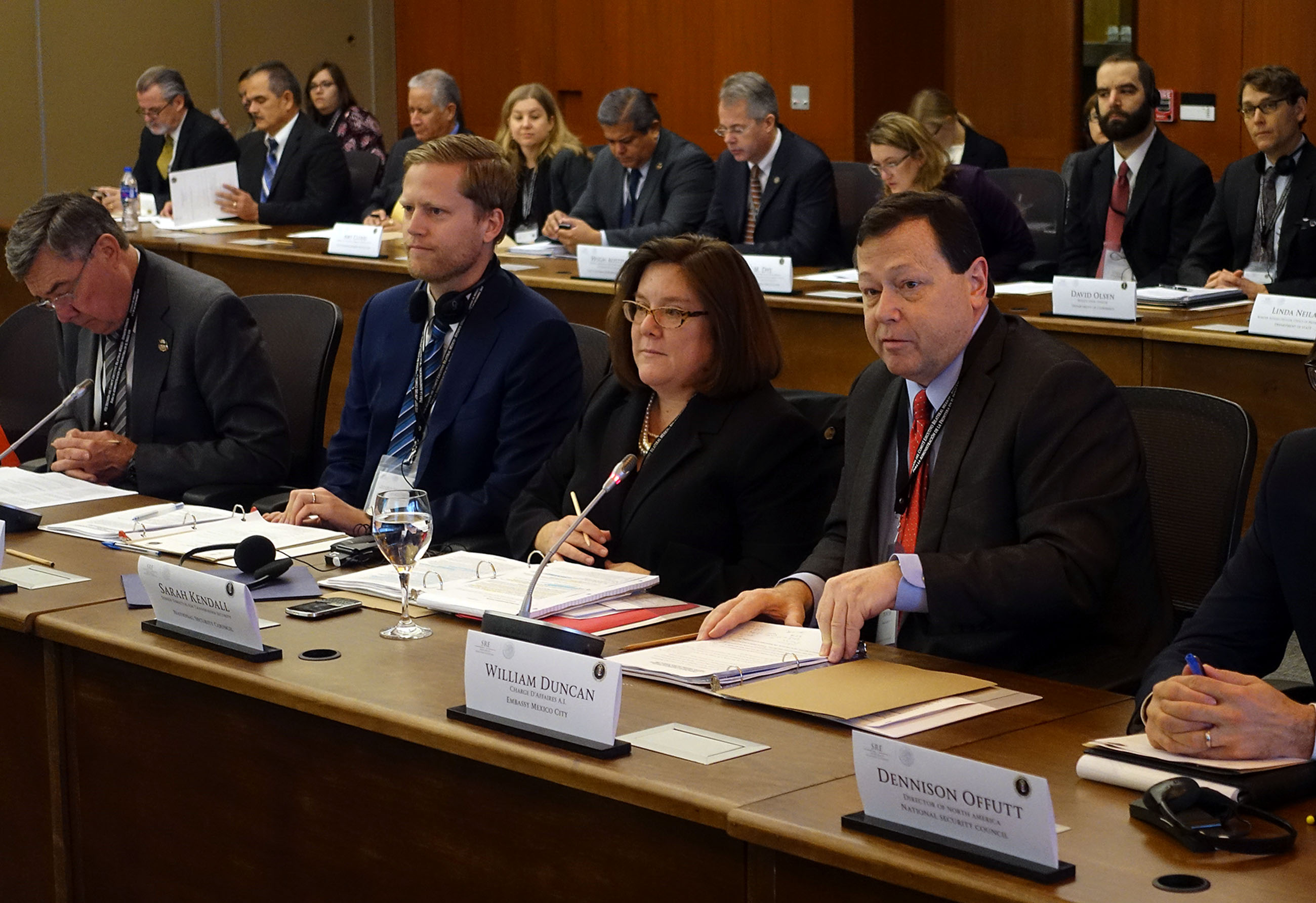 FOTO 3 Reuni n del Comit  Ejecutivo Bilateral de la Iniciativa para la Administraci n de la Frontera en el Siglo XXIjpg