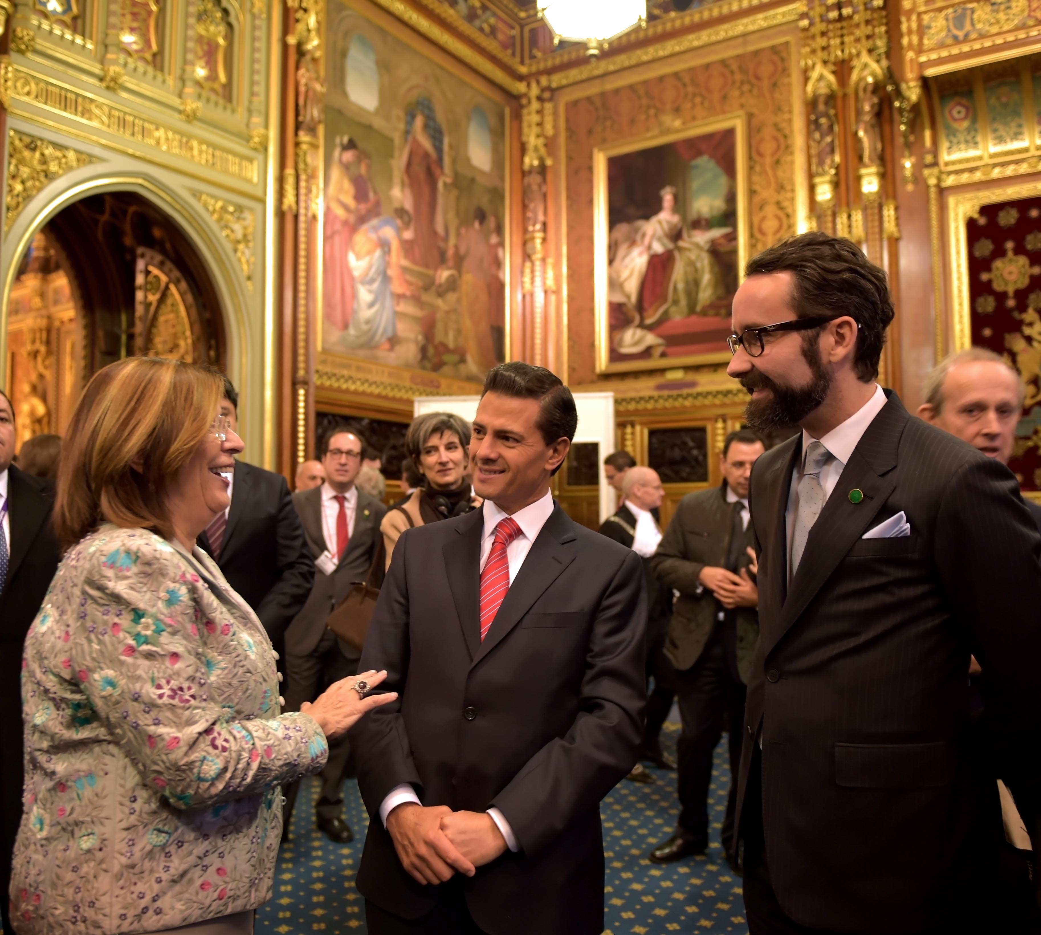 Intervencin del lic enrique pea nieto presidente de los estados unidos mexicanos en la house of lords 16087776573 o