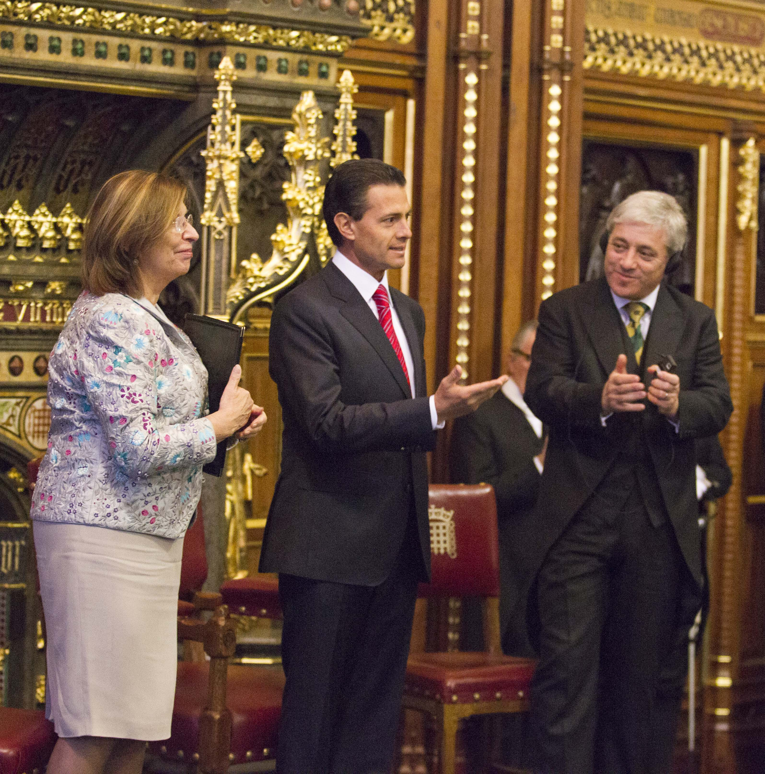 Intervencin del lic enrique pea nieto presidente de los estados unidos mexicanos en la house of lords 16520340050 o