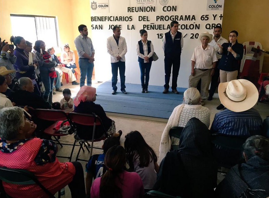 FOTO 1 La subsecretaria Vanessa Rubio M rquez realiz  su primera visita de trabajo al estado de Quer tarojpg