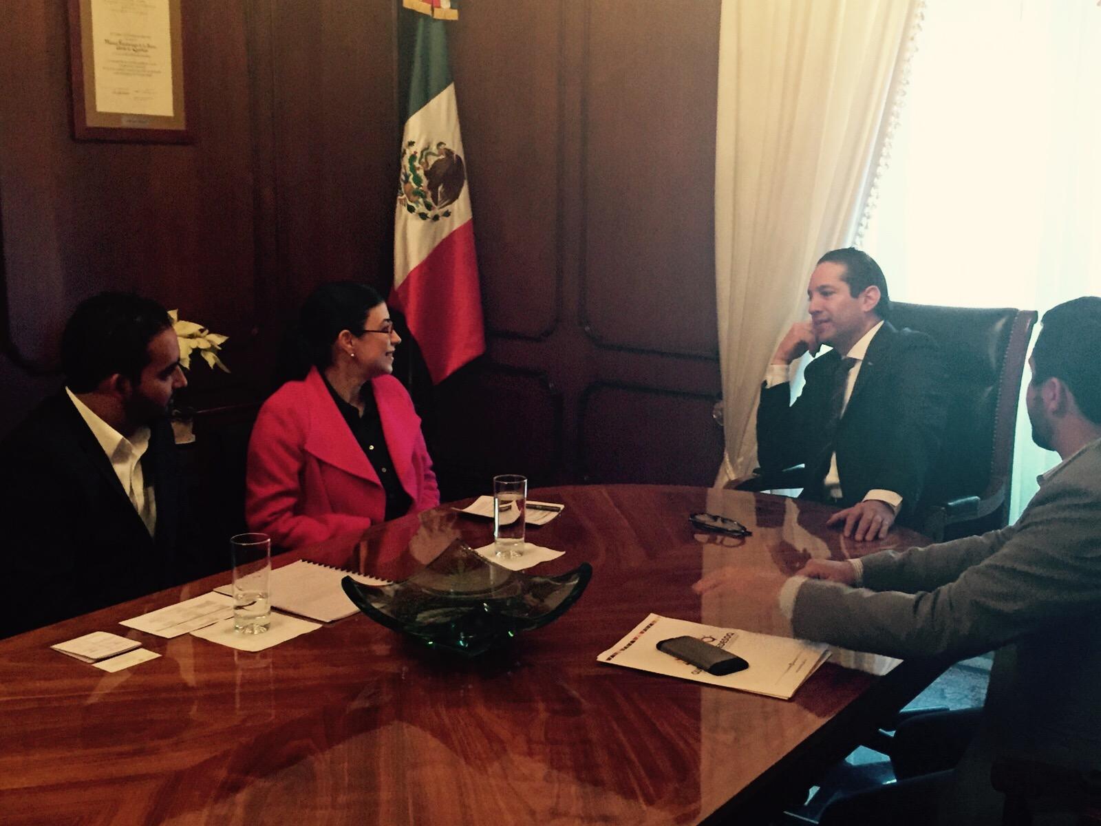 FOTO 2 La subsecretaria Vanessa Rubio M rquez realiz  su primera visita de trabajo al estado de Quer tarojpg