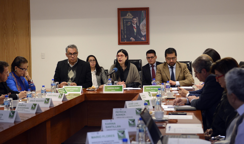 Foto 1 La subsecretaria Vanessa Rubio presidi  la segunda sesi n ordinaria 2015 del Consejo Nacional de la Cruzada contra el Hambre.jpg