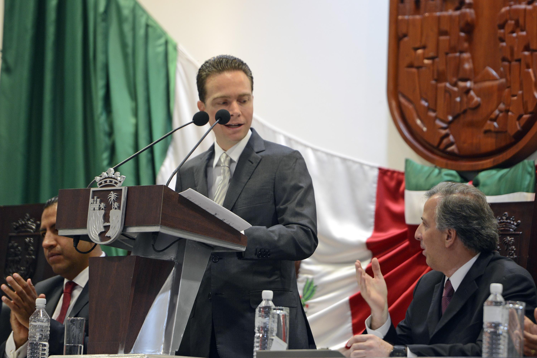 FOTO 2 El secretario Jos  Antonio Meade asisti  al tercer informe de gobierno de Manuel Velasco.jpg