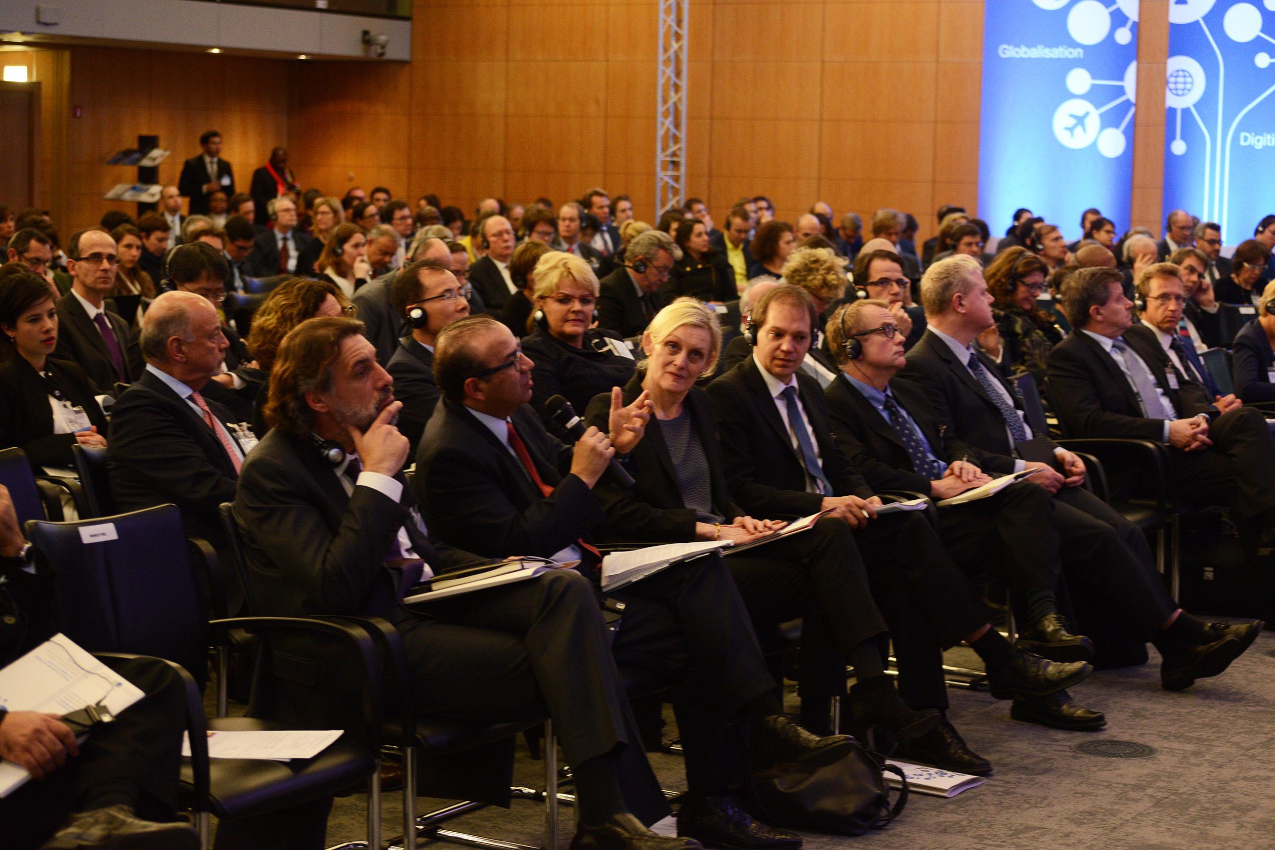 Secretario Navarrete Prida en Foro de Politicas sobre el Futuro del Trabajo de la OCDE 2jpg