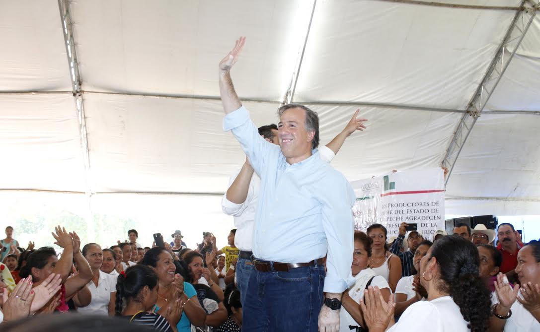 FOTO 4 El secretario Jos  Antonio Meade en el marco de su gira de trabajo por el estado de Campechejpg