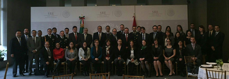 FOTO 7  Ronda anual del Mecanismo de Consultas de Temas Nuevos y Tradicionales de Seguridad M xico Canad jpg