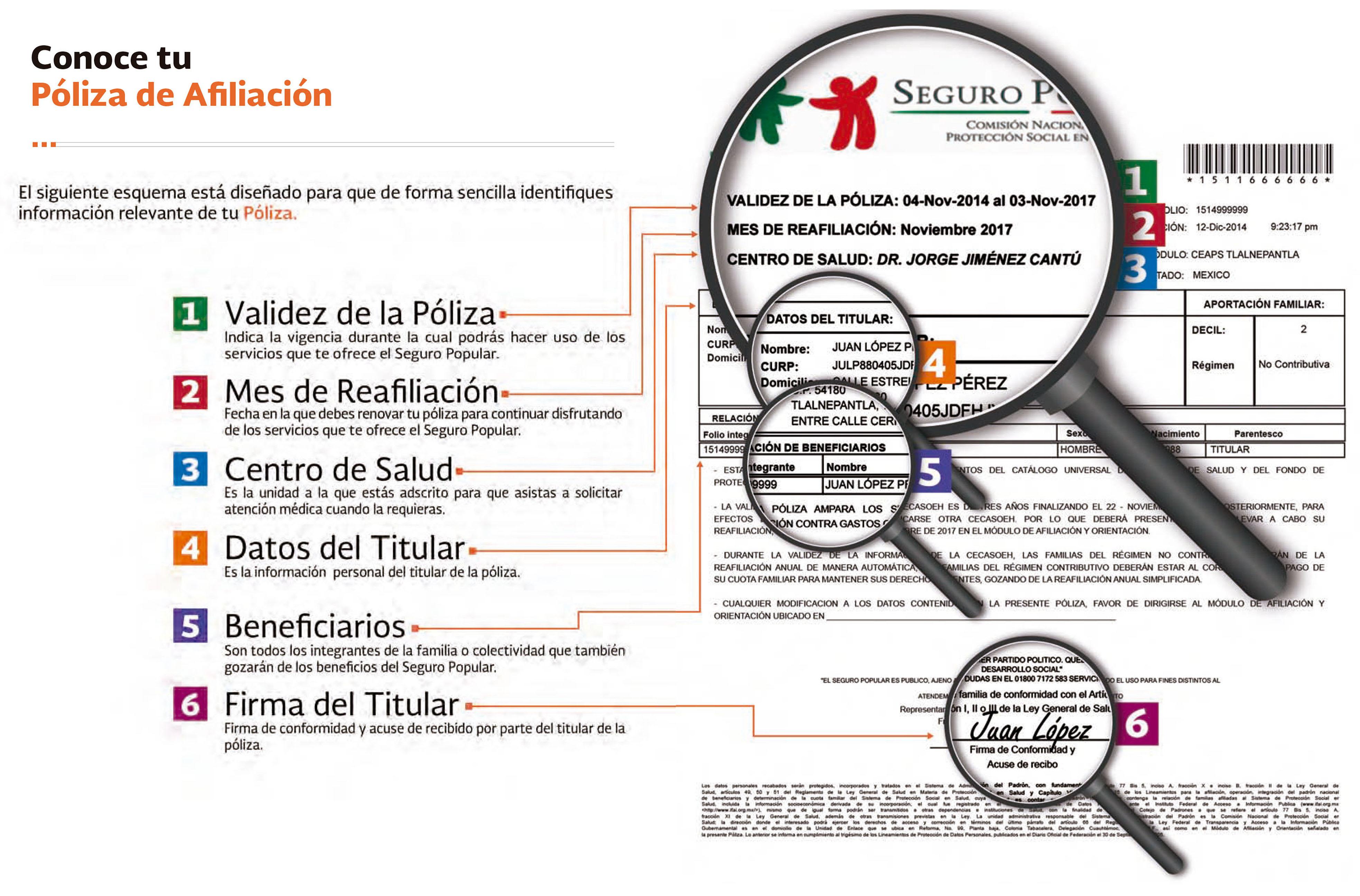 Conoce tu Póliza de Afiliación ¡Lo que debes saber! | Secretaría de ...