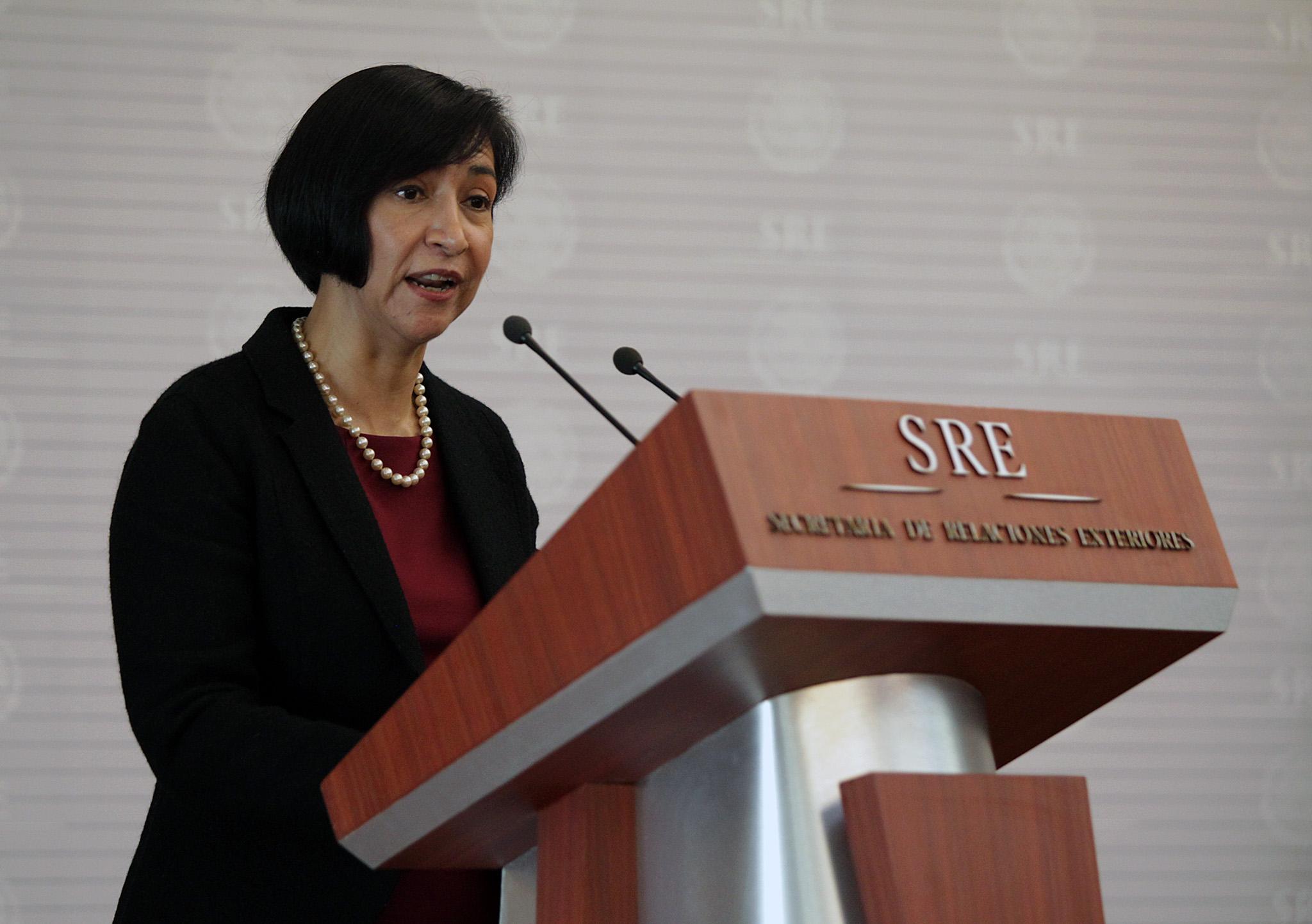 FOTO 2 Embajadora Socorro Flores Liera  Subsecretaria para Am rica Latina y el Caribejpg