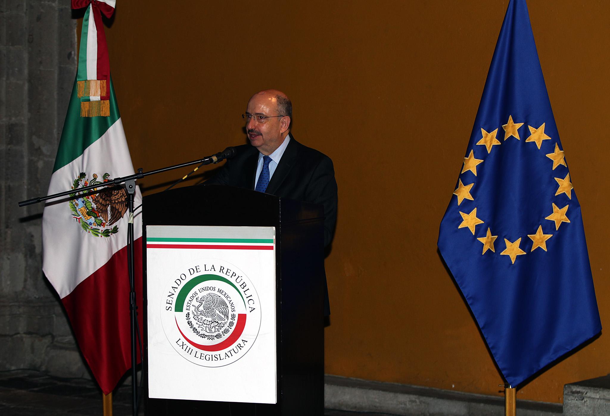 FOTO 1 Inician trabajos de la XX Reuni n de la Comisi n Parlamentaria Mixta M xico Uni n Europeajpg