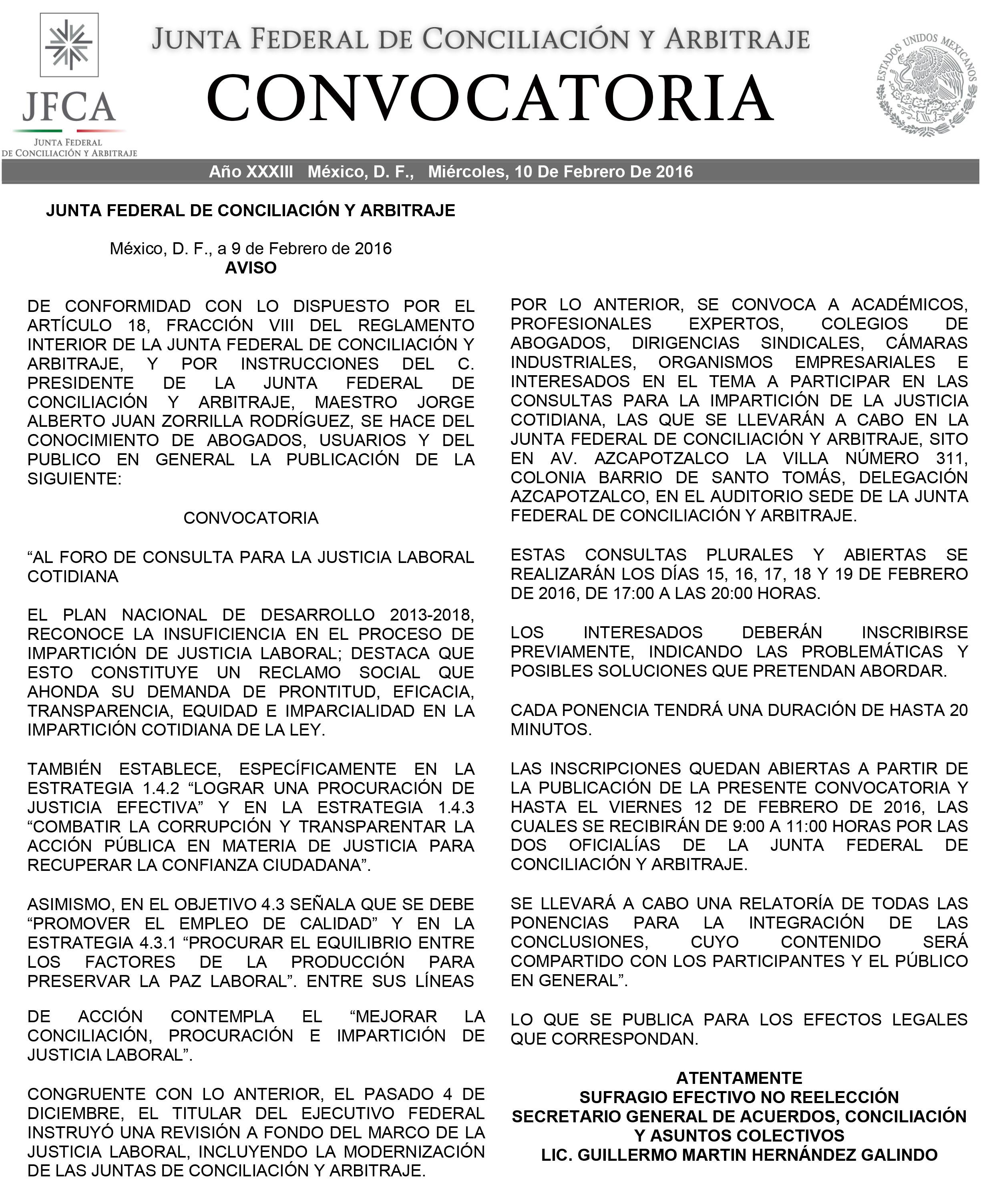 Convocatoria JFCA Foros de Consultajpg