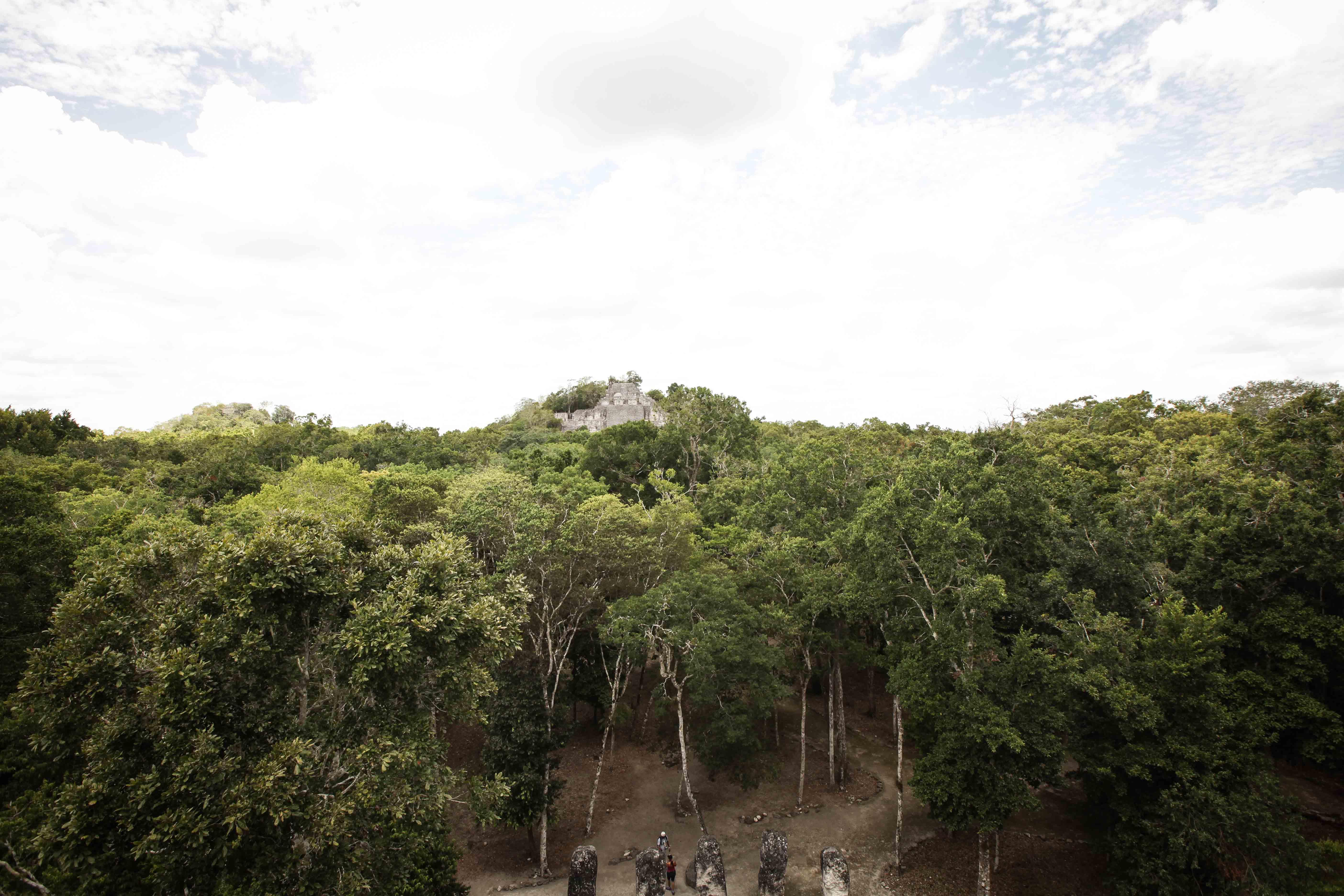 Calakmul, Campeche.