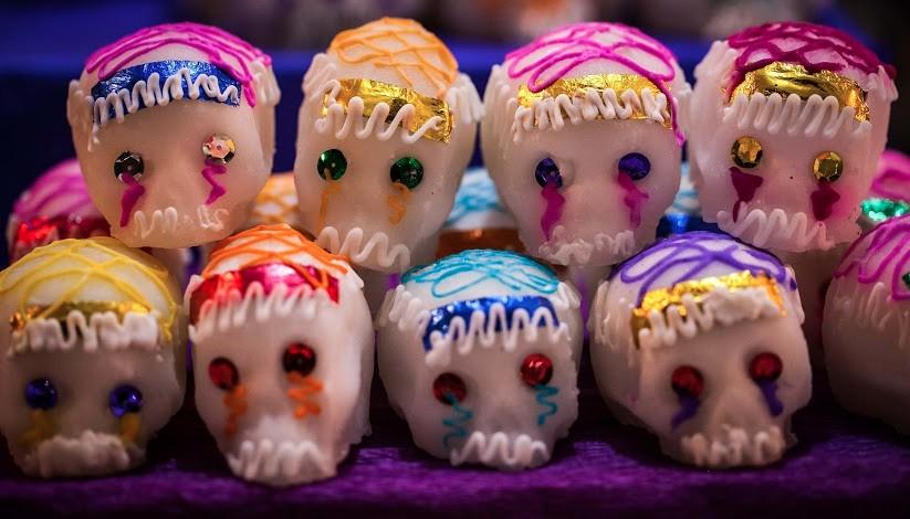 Calaveritas de dulce (Foto: Presidencia de la República)