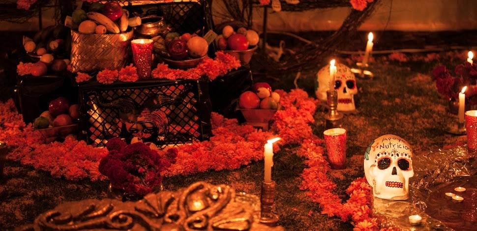Altar de muertos (Foto: Presidencia de la República)