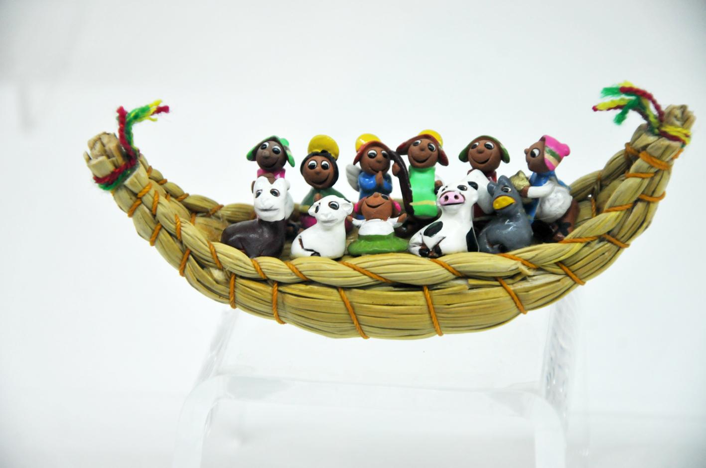 Nacimientos, una artesanía de nuestro país    Foto: Consejo Nacional para la Cultura y las Artes