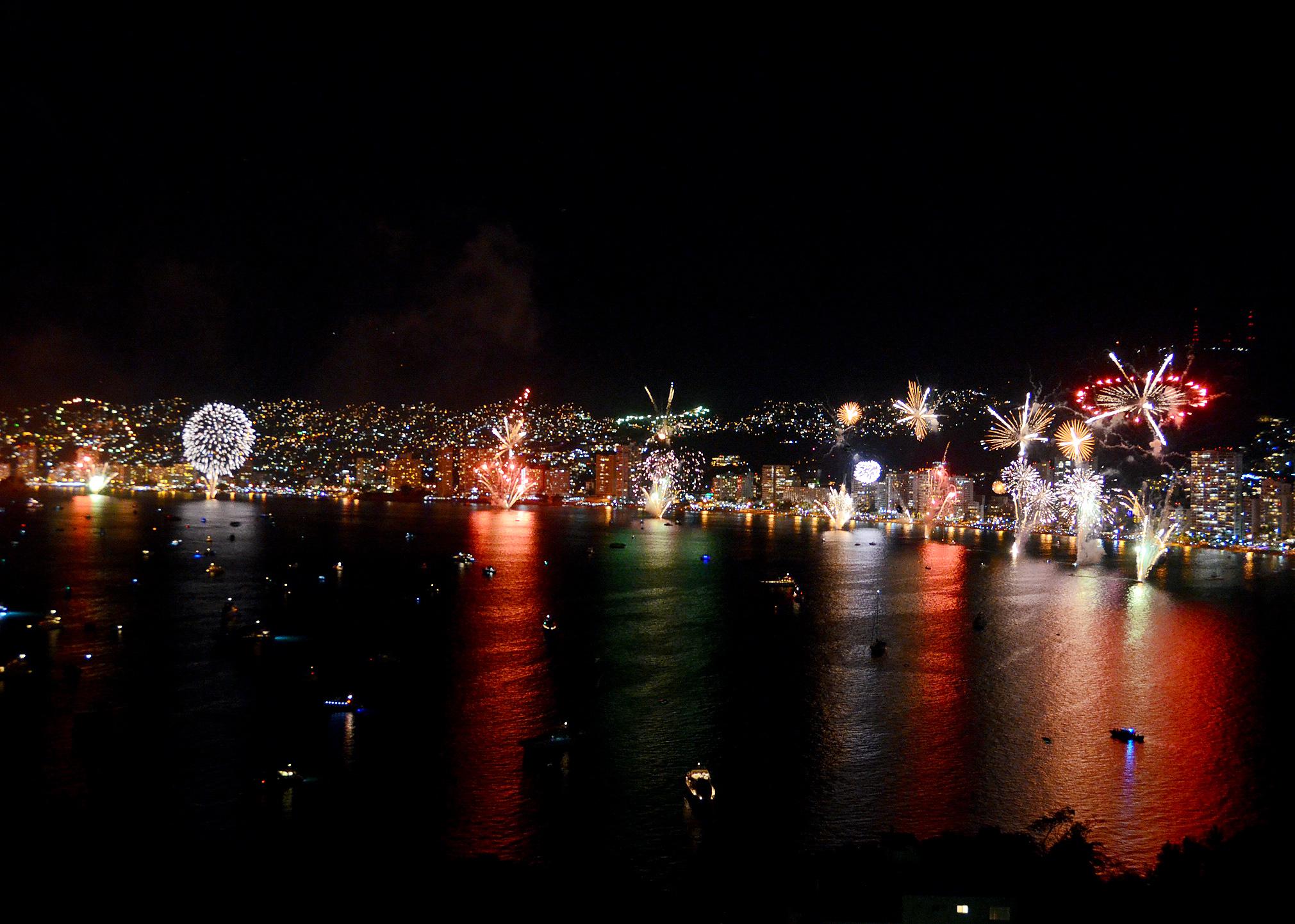 #NuestroMéxico: Acapulco. Acapulco, invierno 2014. (Foto: Turismo Guerrero)