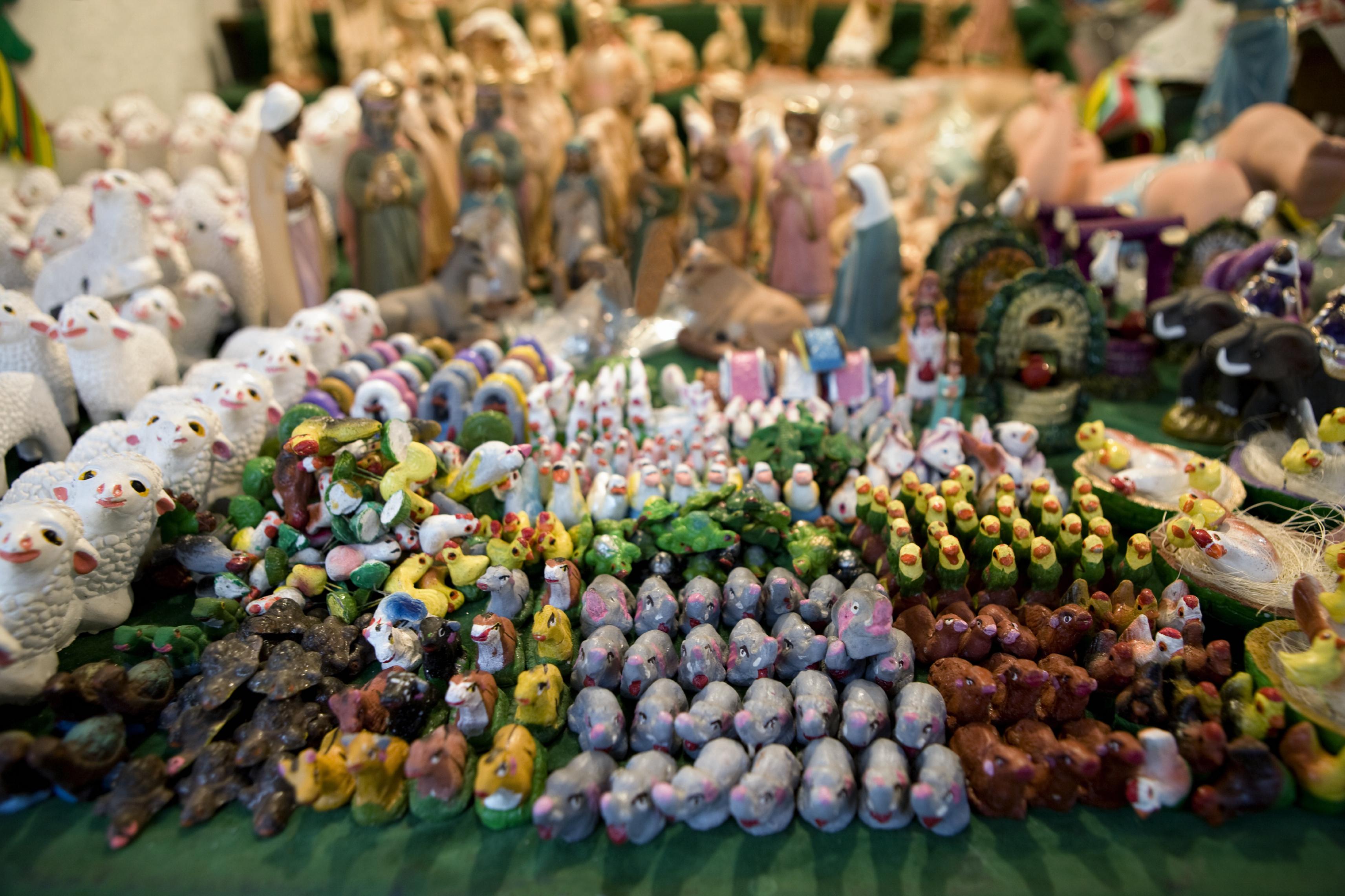 Artículos para decorar en estas fiestas (Foto: Presidencia de la República)