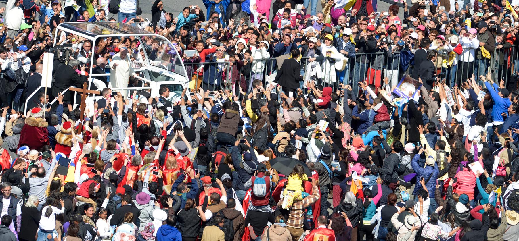 #PapaEnMX (Foto: Presidencia de la República)